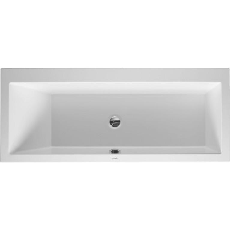 VERO ванна 170*70см встраиваемый вариант, с наклоном для спины слева
