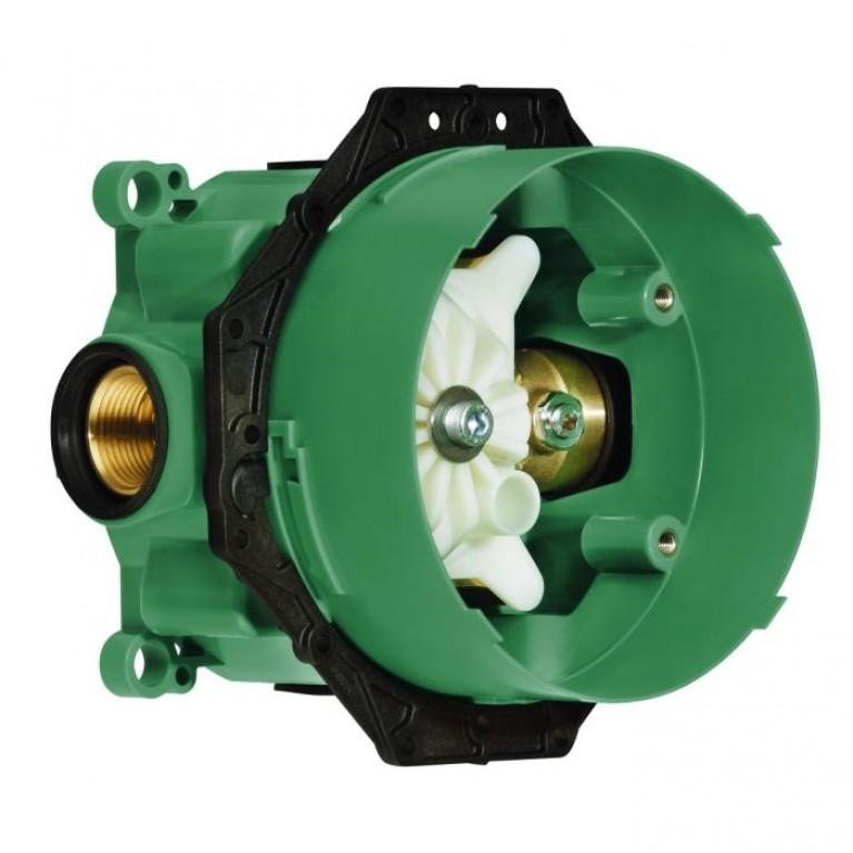 Ibox Universal Скрытая часть со встроенными запорными клапанами, ½/¾', фото 1