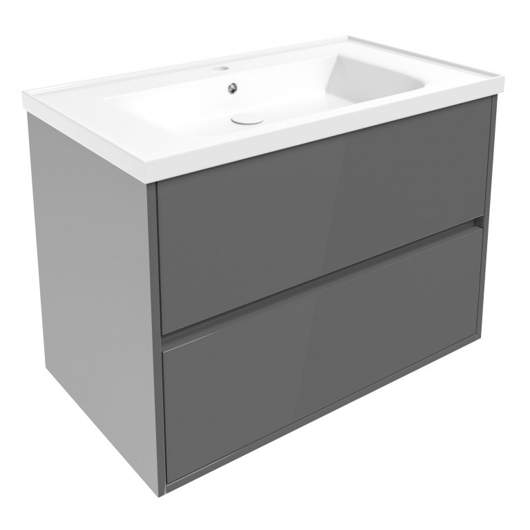 Комплект мебели TEO 80см серый, фото 1