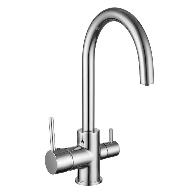 DAICY-U смеситель для кухни  с подключением питьевой воды, хром, фото 1