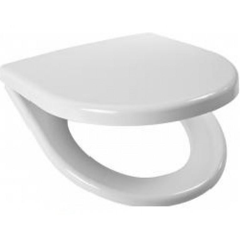 Пластик - белое сиденье