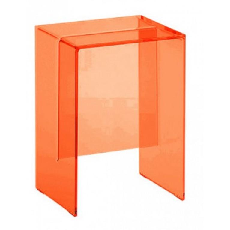 KARTELL стул, цвет прозрачный оранжевый
