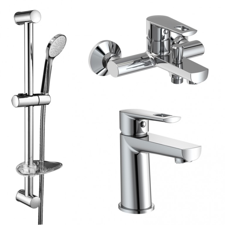 BENITA набор  для ванны(15171100+15172100+штанга)
