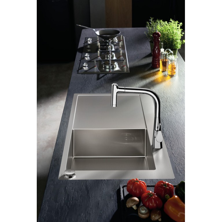 C71-F450-02 Мойка для кухни, встраиваемая, с отверстием под смеситель 43208000, фото 3