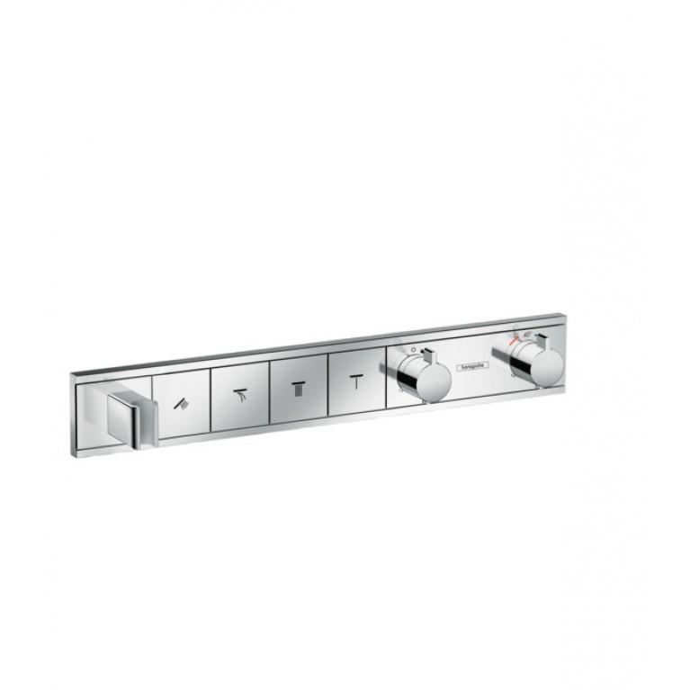 RainSelect Термостат с 4 кнопками, СМ, хром, фото 1