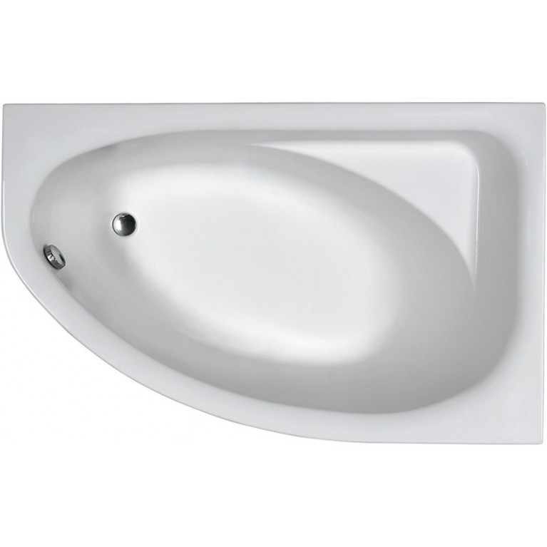 SPRING ванна ассиметричная 170*100 см, правая, фото 1
