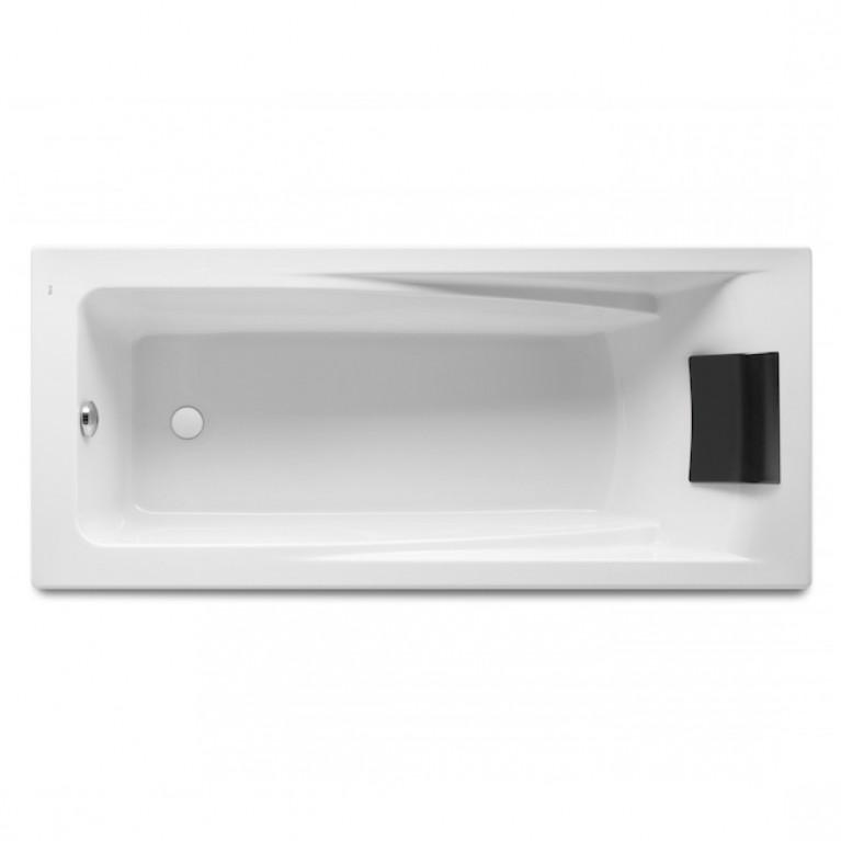HALL ванна 170*75см, акриловая, прямоугольная, белая