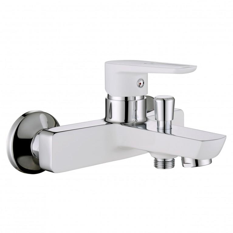 BRECLAV смеситель для ванны, хром/белый, 35 мм