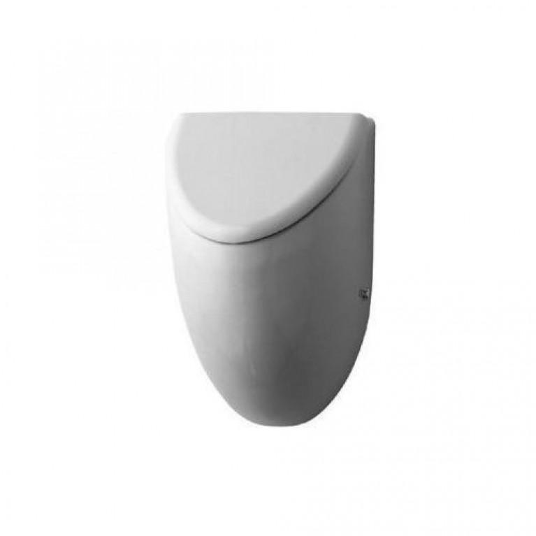 """FIZZ писсуар, подача воды сзади,с вытяжкой, сток горизонтальный, включая крепление, модель для крышки  с """"мушкой"""" 305 x"""