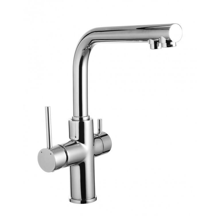 Смеситель для кухни однорычажный IMPRESE DAICY с подключением питьевой воды