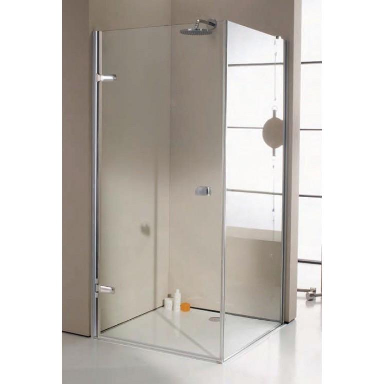 ENJOY STS 900 дверь распашная для боковой стенки 100 см (профиль хром, стекло прозрачное), фото 1
