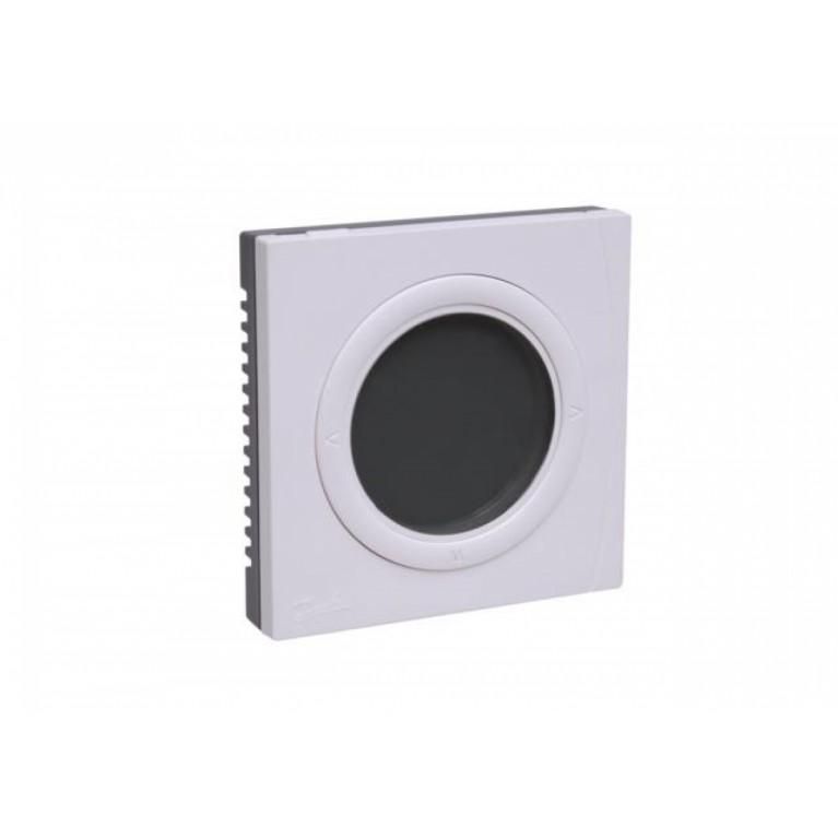 Danfoss Терморегулятор BasicPlus2 WT-D 5-35, электронный, 230V, 86 х 86мм, In-Wall, белый 088U0622, фото 4