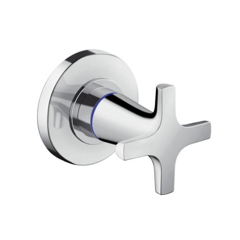 Logis Classic Запорный вентиль для скрытого монтажа, ½' / ¾', хром