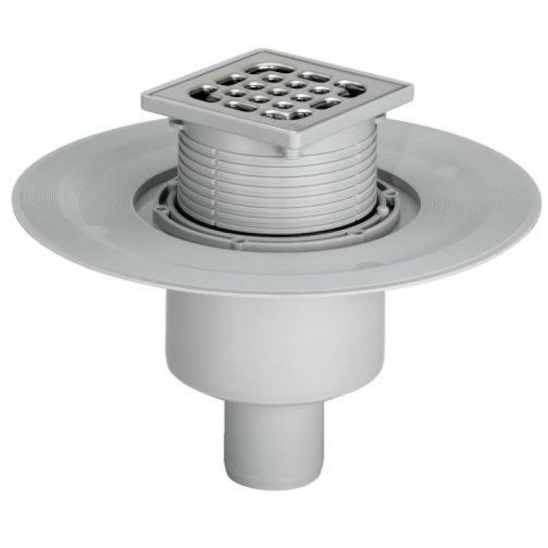 Трап Advantix для ванной, сухой затвор, вертикальный D50 (617271)