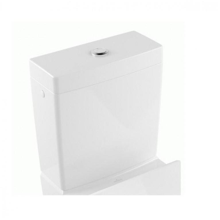 VENTICELLO сливной бачок, подвод воды сбоку или сзади, цвет White Alpin CeramicPlus