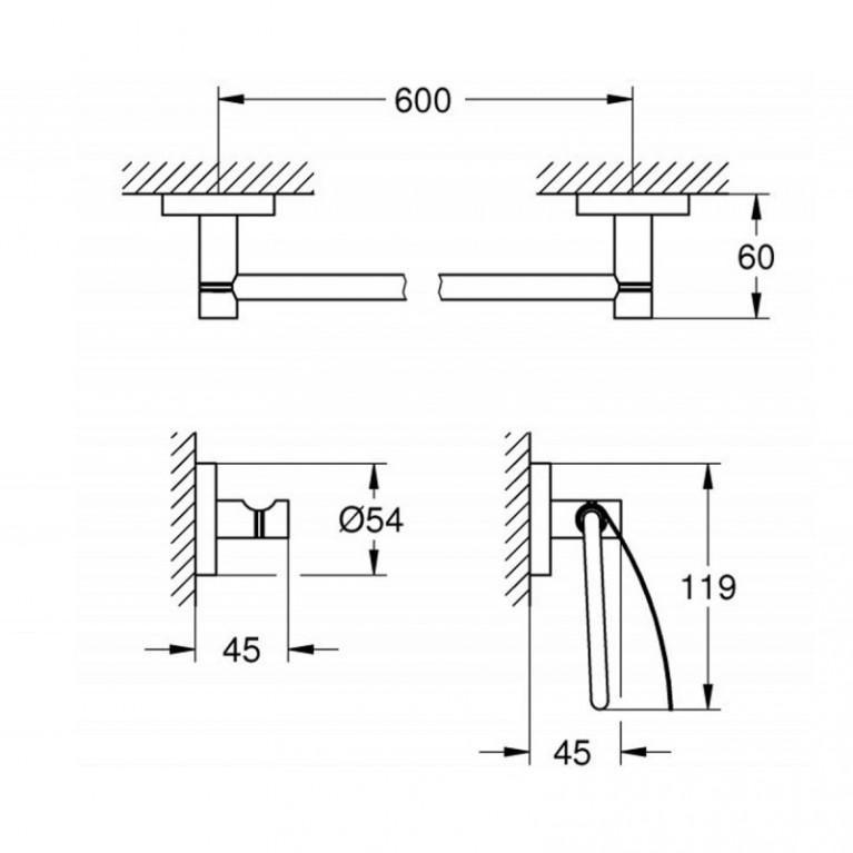 Essentials Набор аксессуаров (3 предмета) 40775001, фото 2