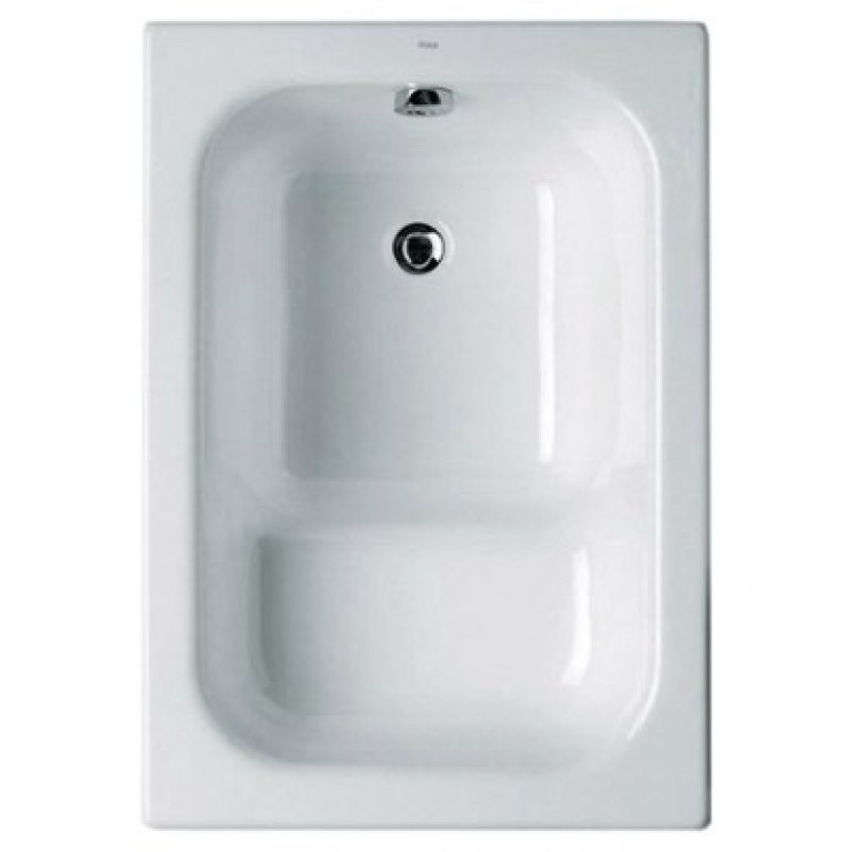 CONTESA ванна 100*70см, с сидением, без ножек, фото 1
