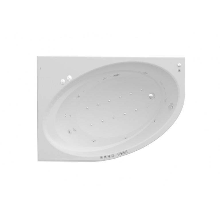 ORBITA ванна 160*100см, с гидромассажем, с системой EFFECTS GOLD, левая