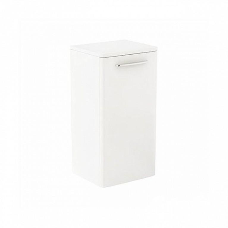 NOVA PRO шкафчик боковой низкий белый глянец (пол)