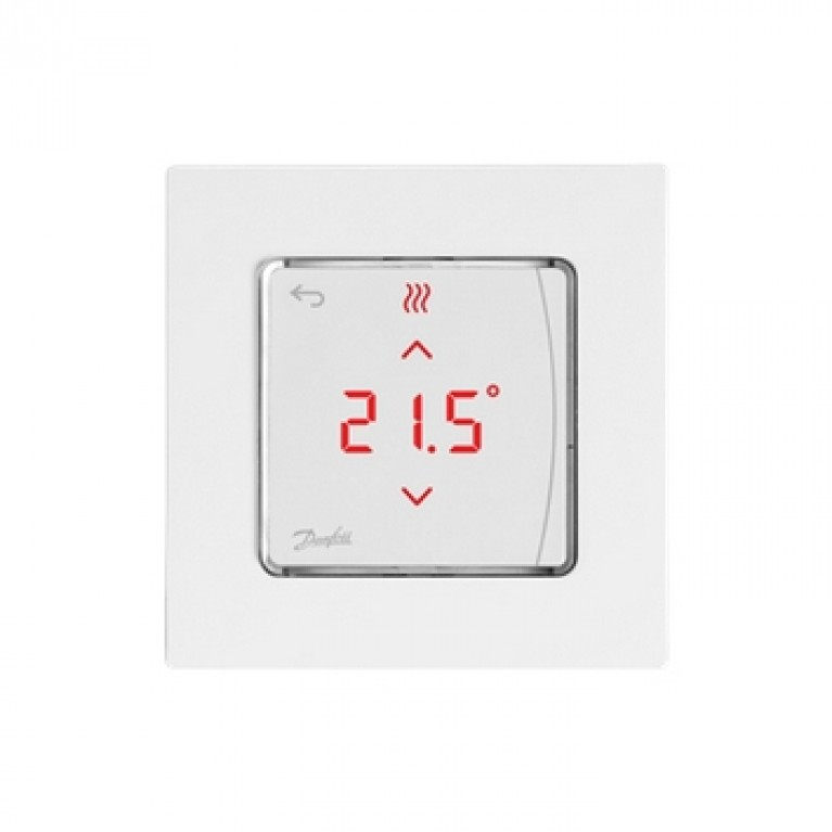 Danfoss Терморегулятор Icon RT Display In-Wall 0-40 °C, сенсорный, встраиваемый, 24V