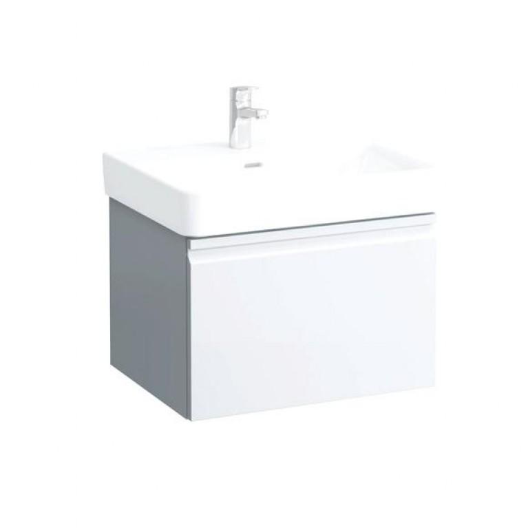 PRO S тумба 570*450*390мм, для раковины H810963, с выдв. ящ., с внутр. выдв.ящ., белый матовый