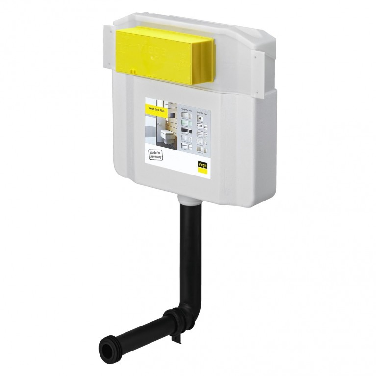 Купить Смывной бачок Visign 2H, с креплениями без кнопки смыва (622220) у официального дилера Viega в Украине