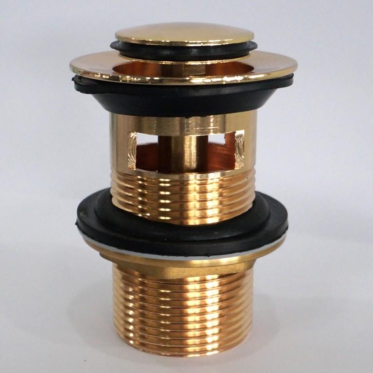 Клапан донный  Pop-up, золото PP280zlato, фото 2