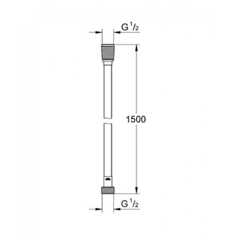 Silverflex Душевой шланг 1,50м 28364000