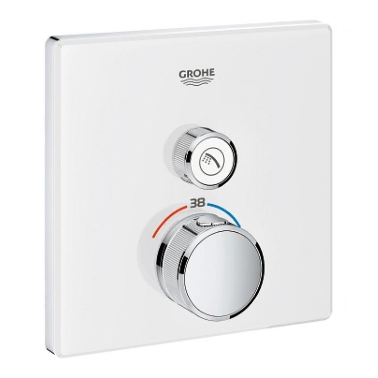 Grohtherm SmartControl Термостат скрытого монтажа с 1 кнопкой управления, фото 1