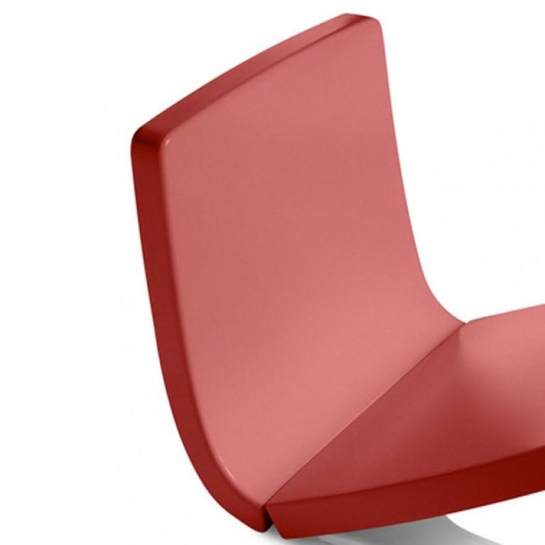 KHROMA съемная панель на переднюю часть бачка, красный цвет
