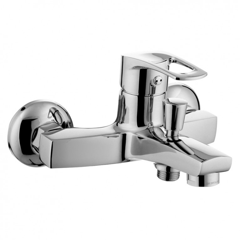LIDICE смеситель для ванны, хром, 35 мм