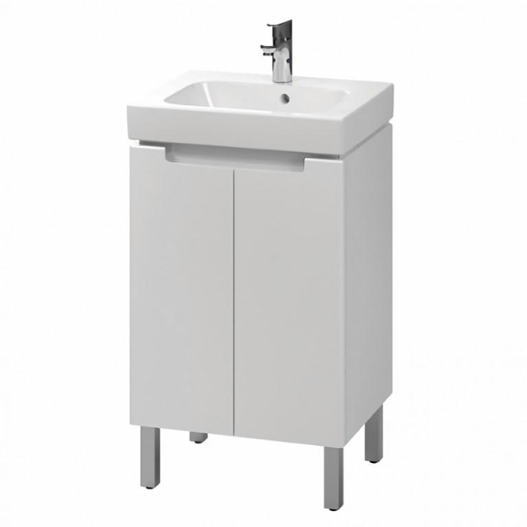 MODO комплект:шкафчик под умывальник 50 см+умывальник мебельный 50 см,белый (пол.), фото 1