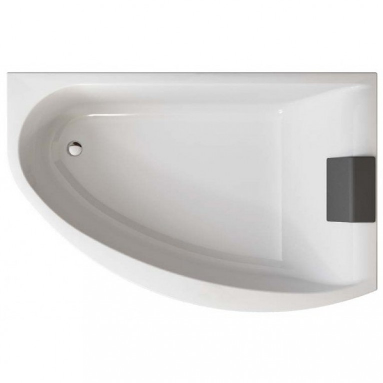 MIRRA ванна 170*110  см,  асимметричная  ванна  правая, без панели (гидром.система Эконом), фото 1