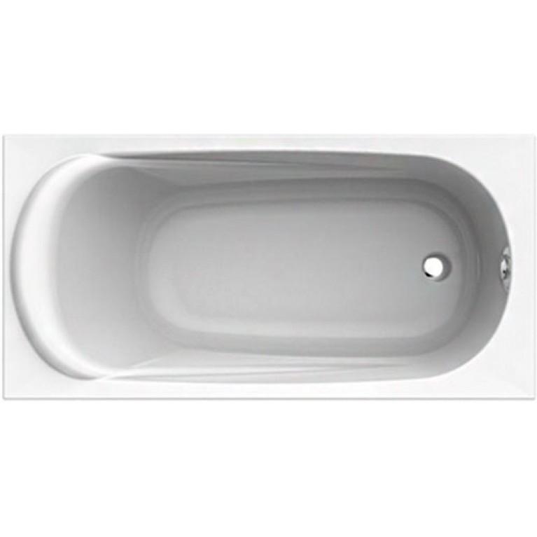 SAGA ванна прямоугольная 160*75 см с ножками SN0 и элементами крепления, фото 1