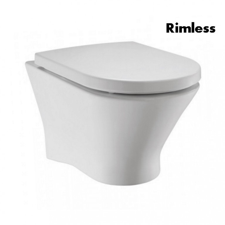 Купить NEXO Rimless подвесной унитаз с сиденьем slow-closing (в упак.) у официального дилера Roca в Украине