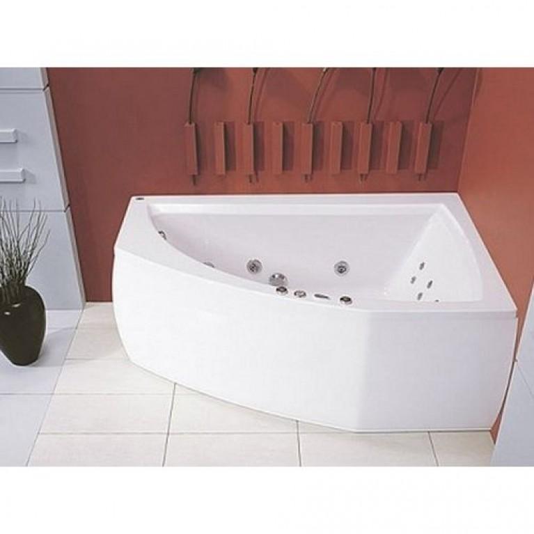 AQUAMARINA ванна 175*120, с рамой, правая, фото 1