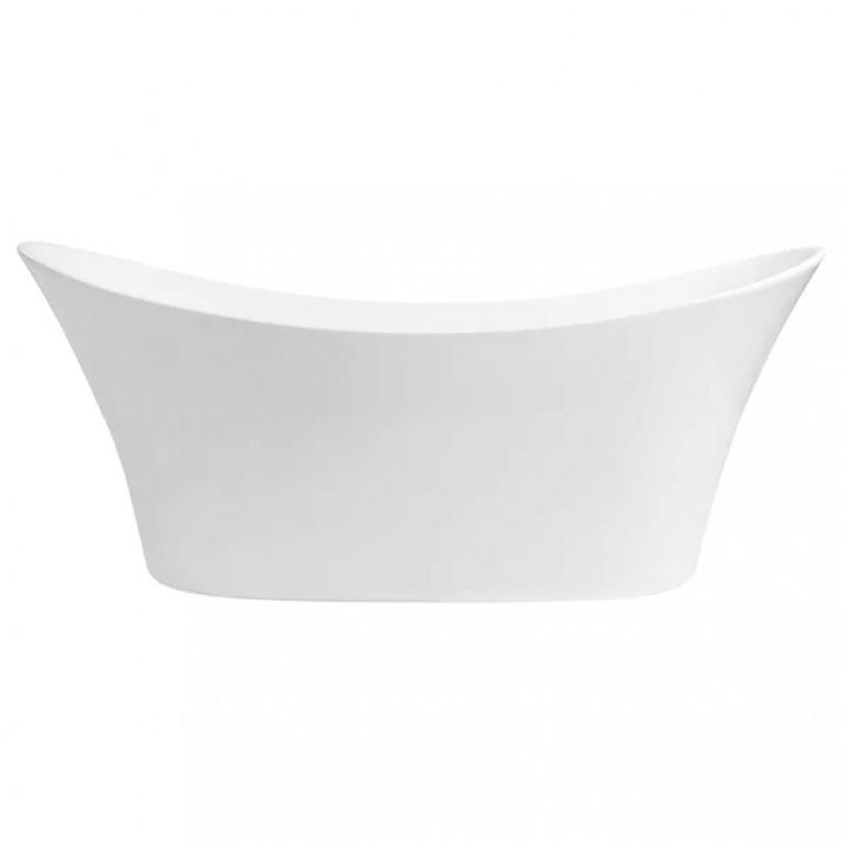 """HARMONY ванна 170*70см, акриловая, овальная, отдельностоячая, с панелью, с сифоном """"click-clack"""", с ножками"""