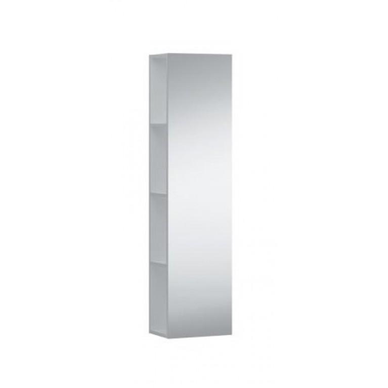 KARTELL тумба средняя 300*200*1200мм, подвесная, фасад зеркало, откр. полочки с обеих сторон, цвет из дополнительных