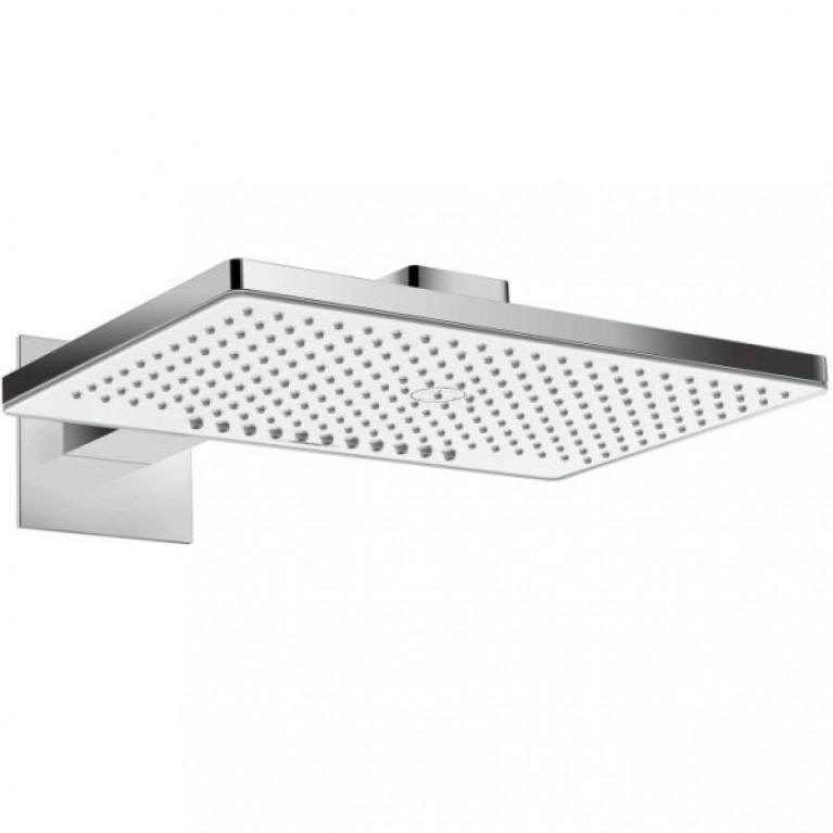 Rainmaker Select 460 2jet Верхний душ с держателем 450 мм, EcoSmart,  белый/хром