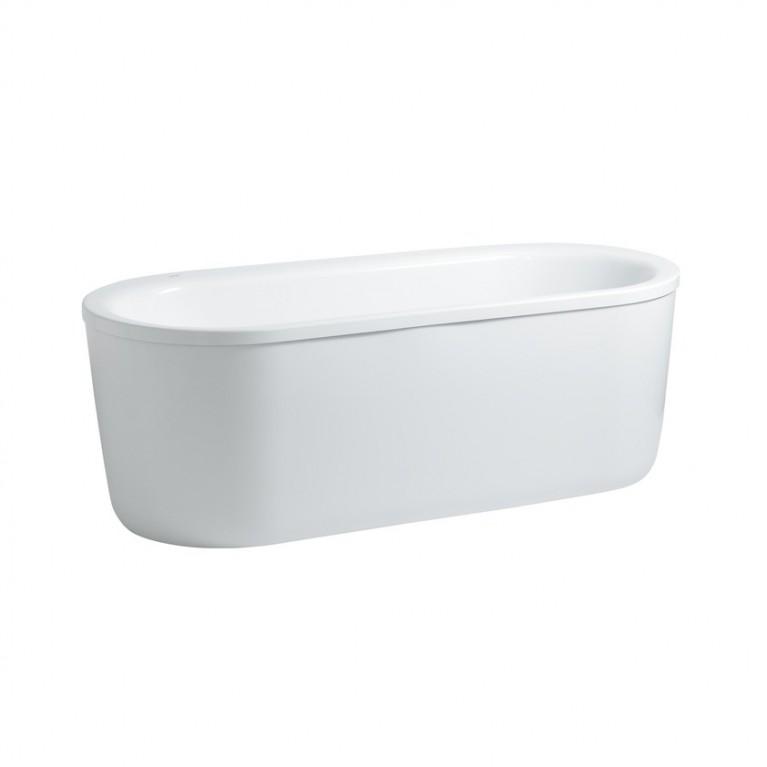 SOLUTIONS ванна овальная 170*70см отдельностоящая, с панелью, с рамой