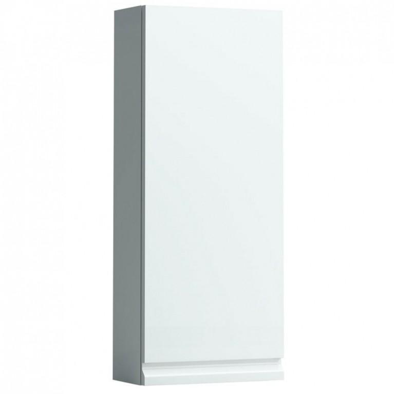 PRO тумба 350*180*850мм подвесная, дверные петли справа, цвет белый