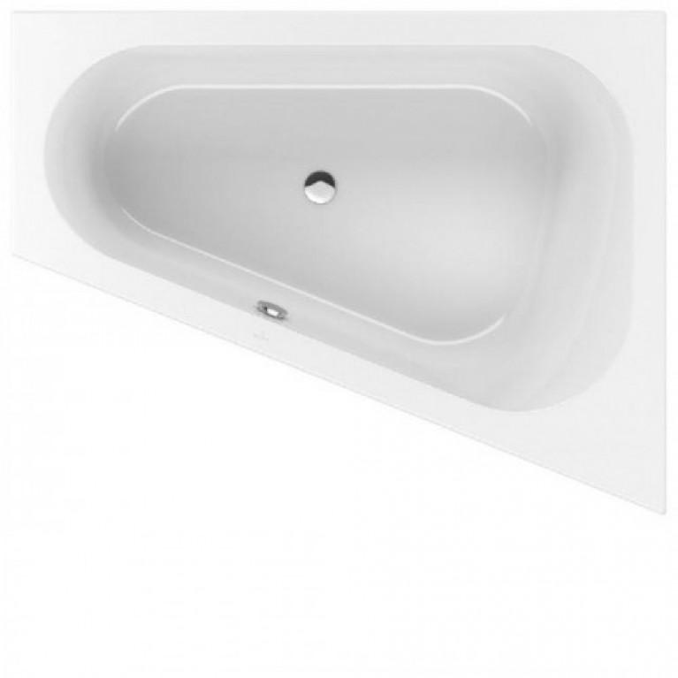 LOOP&FRIENDS ванна 175*135см нестандартной формы, правая, овальная внутренняя форма, акрил, фото 1