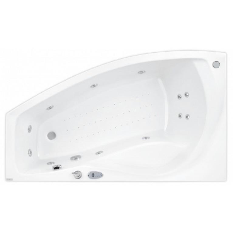 NICOLE ванна  150*90 левая + система  ECONOMY 1