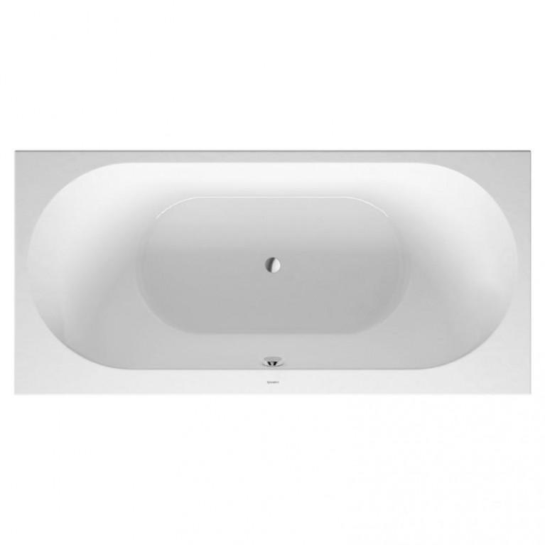 DARLING NEW ванна 190*90*46см, встраиваемая версия или версия с панелями, с двумя наклонами для спины, прямоугольная, фото 1