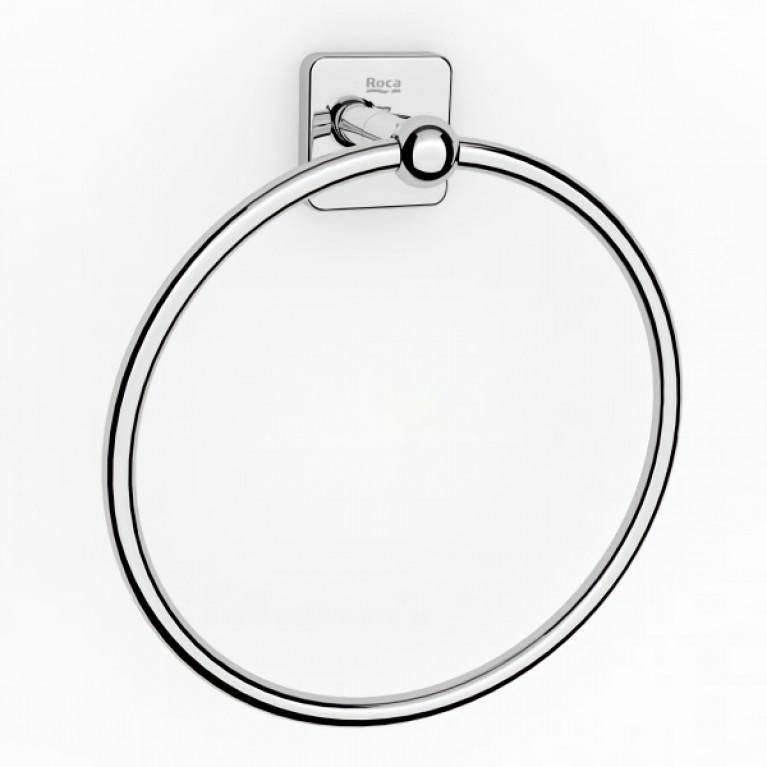 VICTORIA кольцо-полотенцедержатель 20см, металлическое, крепится на стену