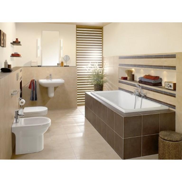 ARCHITECTURA ванна 160*70см, прямоугольная, цвет белый альпин UBA167ARA2V-01, фото 2