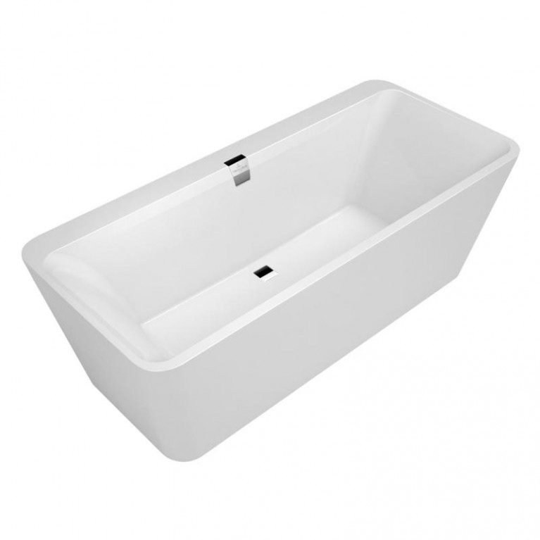 SQUARO ванна 180*80см, цвет белый альпин, материал Quaryl, фото 1