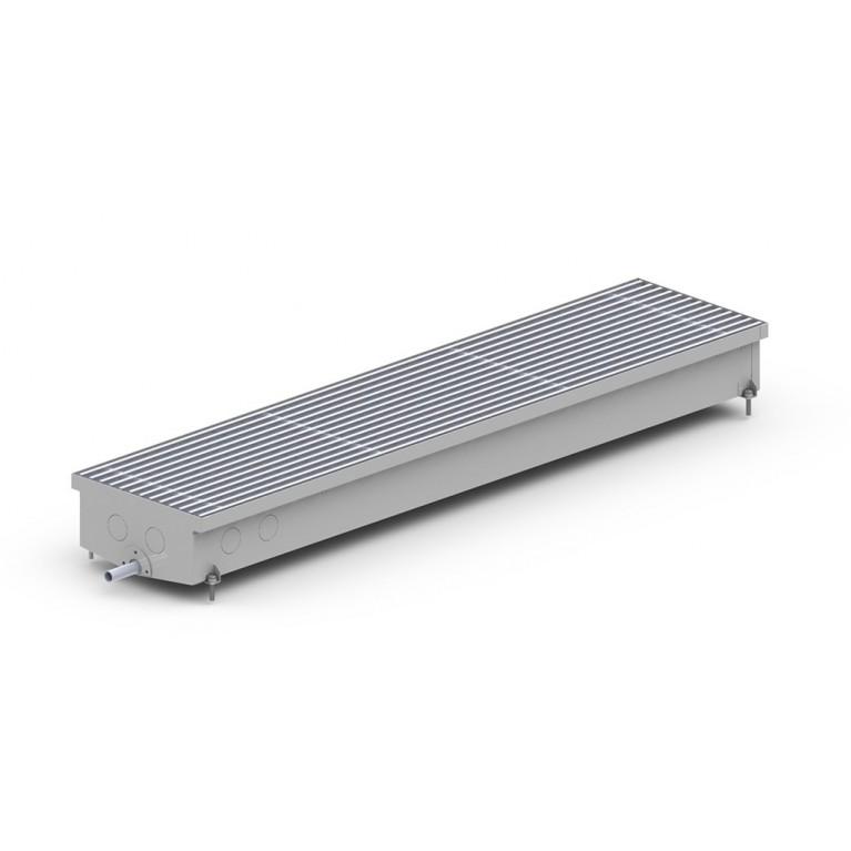 Внутрипольный конвектор естественной конвекции для влажных помещений С Hydro 105 - 230 мм