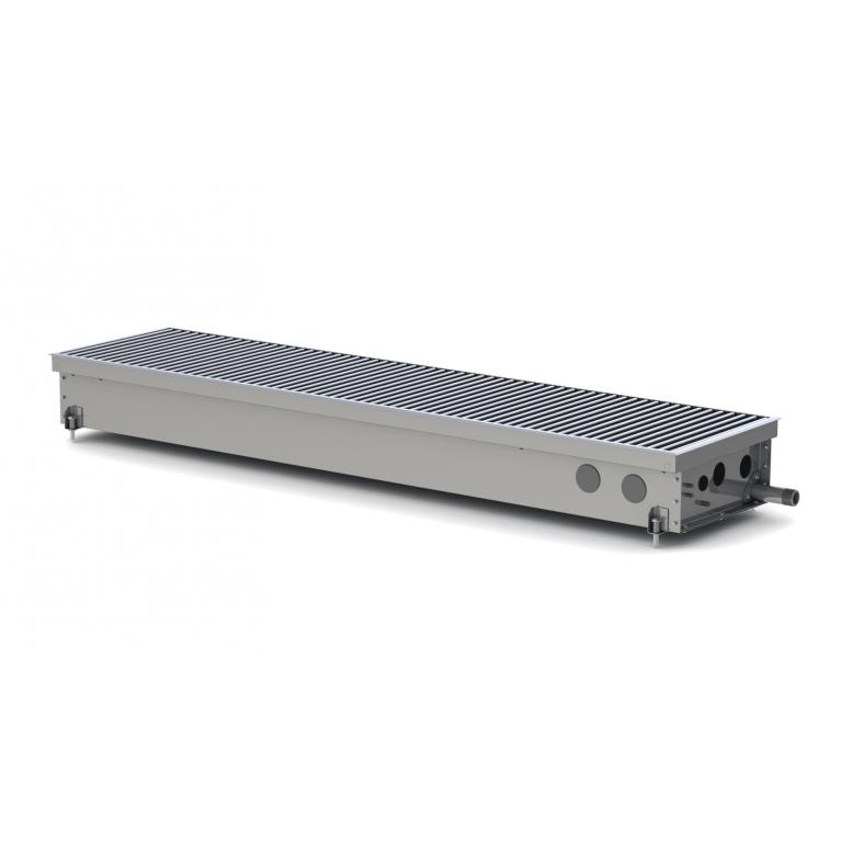 Внутрипольный конвектор естественной конвекции для влажных помещений S Hydro 105 - 230 мм