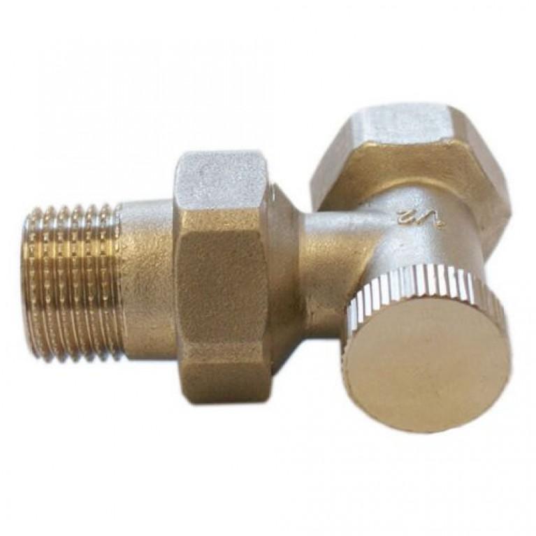 Обратный клапан угловой Schlösser DN15 GZ 1/2 GW 1/2